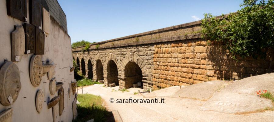 Il Ponte di Nona, costruito sul nono miglio della Prenestina