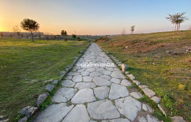 Via Collatina: l'antica strada affiora a Nuova Ponte di Nona